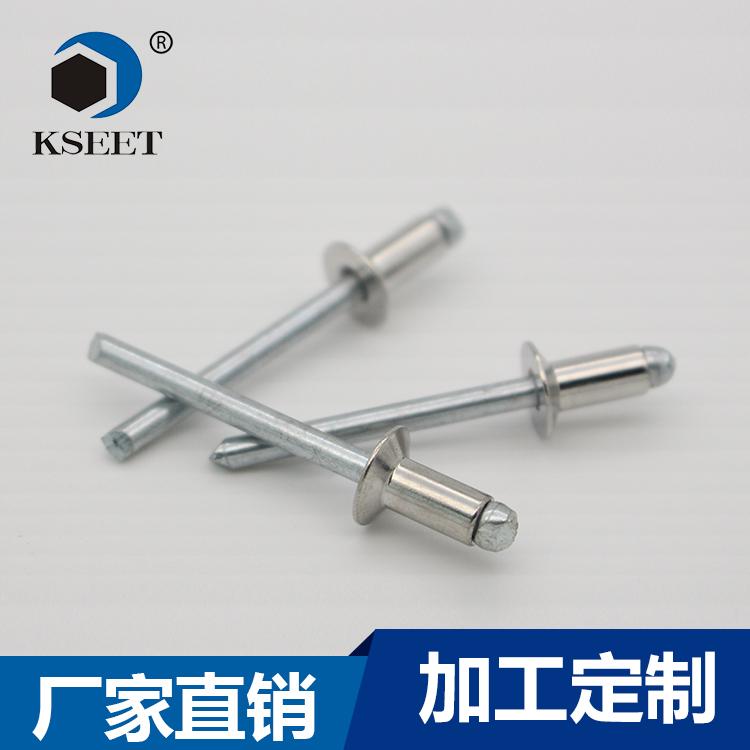 GB12617-90 开口沉头抽芯铆钉